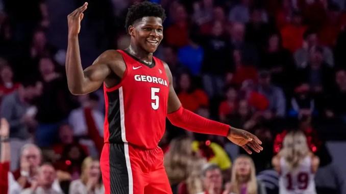 Georgia, 2020 NBA Draft, Anthony Edwards, Golden State Warriors