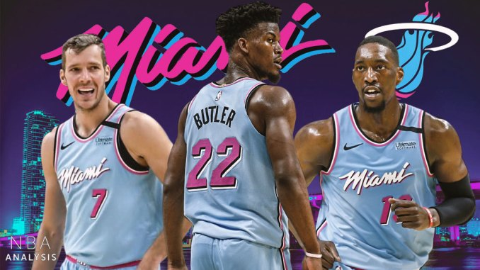 Miami Heat, Jimmy Butler, Bam Adebayo, Goran Dragic