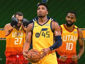 Utah Jazz, Donovan Mitchell, Rudy Gobert, Mike Conley
