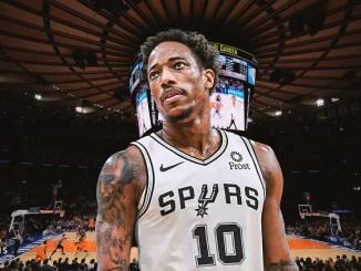 DeMar DeRozan, Knicks