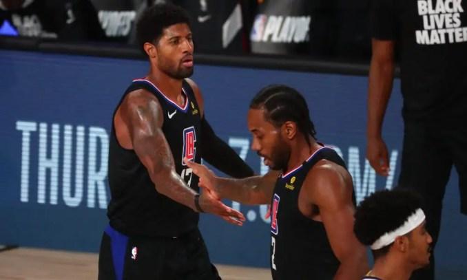 Paul George, Los Angeles Clippers, Kawhi Leonard, NBA Trade Rumors, Warriors