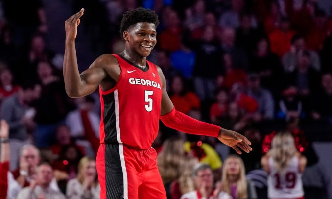 Anthony Edwards, NBA Mock Draft, Georgia