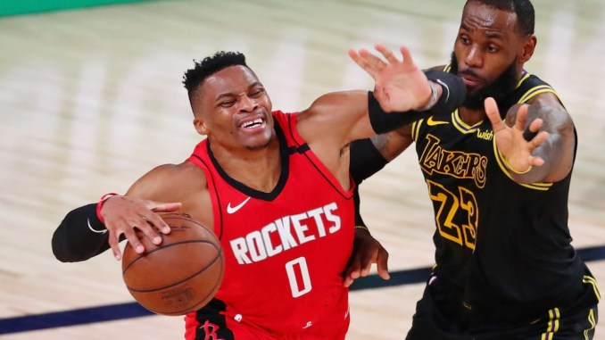 Russell Westbrook, LeBron James, Lakers, Houston Rockets, Orlando Magic, NBA Rumors, New York Knicks, PJ Tucker, Miami Heat, Russell Westbrook, Detroit Pistons, Jazz