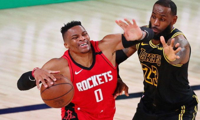 Russell Westbrook, LeBron James, Lakers, Houston Rockets, Orlando Magic, NBA Rumors, New York Knicks, PJ Tucker, Miami Heat