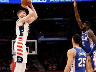 Davis Bertans, Washington Wizards, 76ers, NBA Trade Rumors