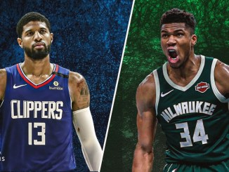 Paul George, Giannis Antetokounmpo, Clippers, Bucks