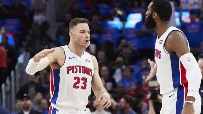 Blake Griffin, Detroit Pistons, NBA Trade Rumors, Utah Jazz