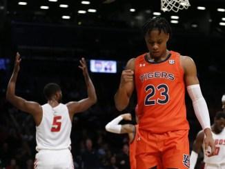 Isaac Okoro, 2020 NBA Mock Draft, Auburn