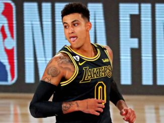 Kyle Kuzma, Los Angeles Lakers, LeBron James, Anthony Davis