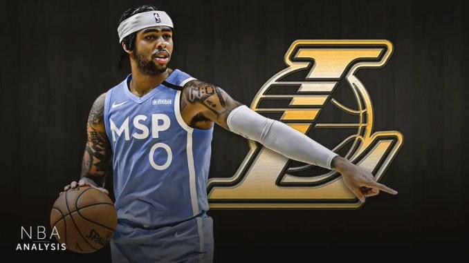 Los Angeles Lakers, D'Angelo Russell, NBA Rumors, Minnesota Timberwolves