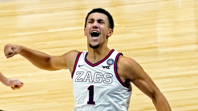 Jalen Suggs, Gonzaga Bulldogs, 2021 NBA Draft, NBA Rumors
