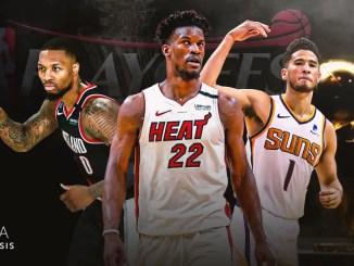 Phoenix Suns, Portland Trail Blazers, Miami Heat