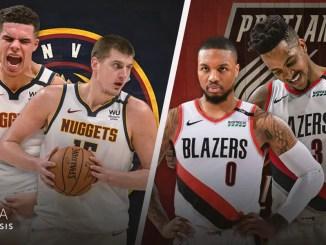 Portland Trail Blazers, Denver Nuggets, Nikola Jokic, Michael Porter Jr., Damian Lillard, CJ McCollum