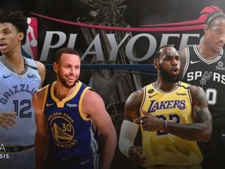 Los Angeles Lakers, Golden State Warriors, Memphis Grizzlies, San Antonio Spurs
