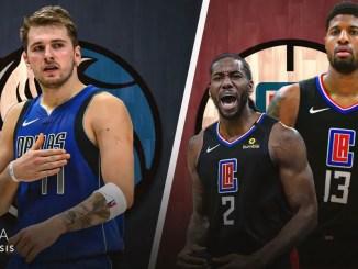 Dallas Mavericks, LA Clippers, Luka Doncic, Kawhi Leonard, Paul George
