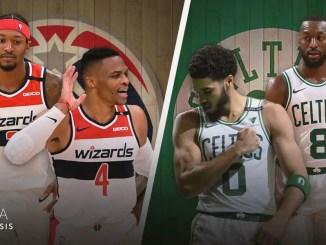 Boston Celtics, Washington Wizards, Bradley Beal, Russell Westbrook, Kemba Walker, Jayson Tatum