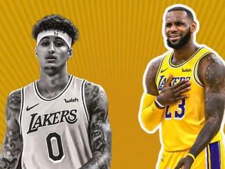 LeBron James, Kyle Kuzma, Lakers