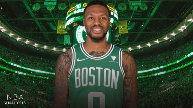 Boston Celtics, Damian Lillard, Portland Trail Blazers, NBA Trade Rumors
