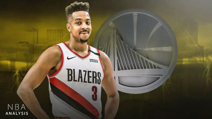 Golden State Warriors, CJ McCollum, NBA Trade Rumors, Portland Trail Blazers