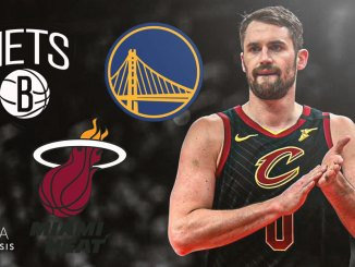 Kevin Love, Heat, Nets, Warriors