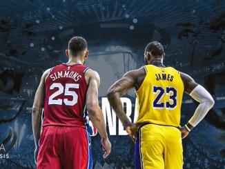 Ben Simmons, LeBron James, LeBron James, Philadelphia 76ers, Los Angeles Lakers, NBA Trade Rumors