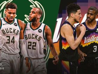 Phoenix Suns, Milwaukee Bucks, 2021 NBA Finals