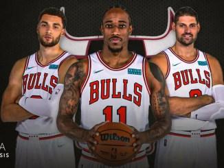 Chicago Bulls, DeMar DeRozan, Lonzo Ball, Zach LaVine, NBA