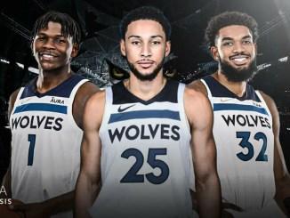 Karl-Anthony Towns, Minnesota Timberwolves, Ben Simmons, Anthony Edwards, NBA Trade Rumors