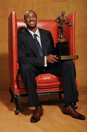 Kobe Bryant Lakers NBA MVP