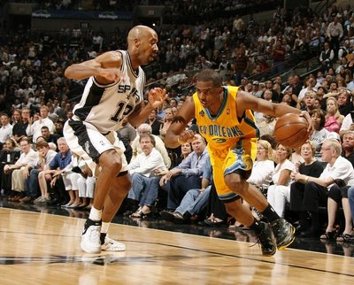 Chris Paul y Bruce Bowen