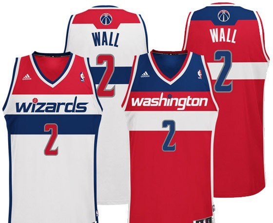 Nuevas camisetas Washington Wizards recordando a los Bullets