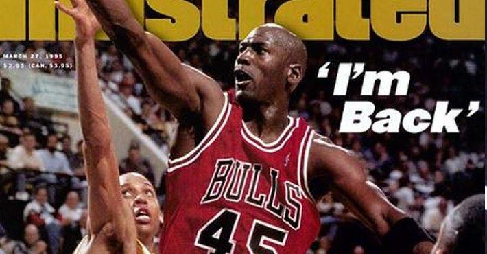 El regreso de Michael Jordan a la NBA.