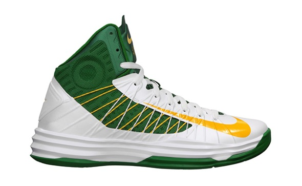 Nike Hyperdunk Brazil White/University Gold-Pine Green-Gorge Green