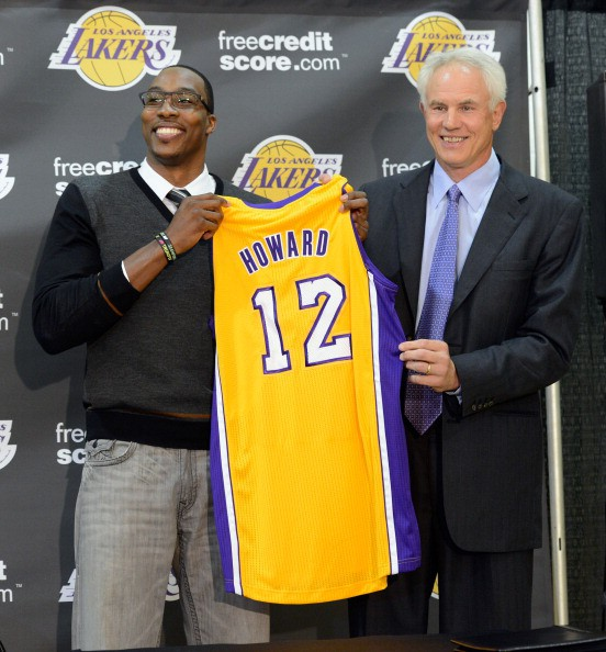 Diwght Howard rueda prensa Lakers