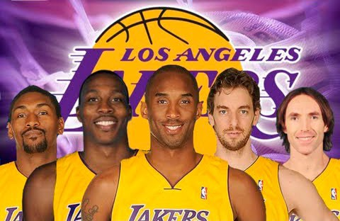 Lakers-quinteto