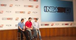 Marc Gasol presenta el NBA 2K13 en Madrid junto a Antoni Daimiel y Jorge Quiroga