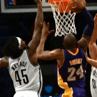 Kobe Bryant Gerald Wallace