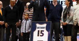 Syracuse retira la camiseta de Carmelo Anthony