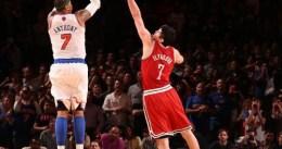 Carmelo Anthony sigue liderando la lista en tiros de campo intentados durante estos playoffs
