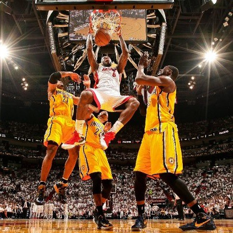 LeBron James Pacers 2013