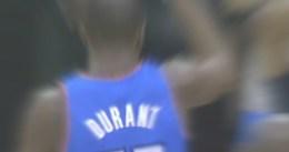 Kevin Durant será baja entre 6 y 8 semanas por una fractura en el pie
