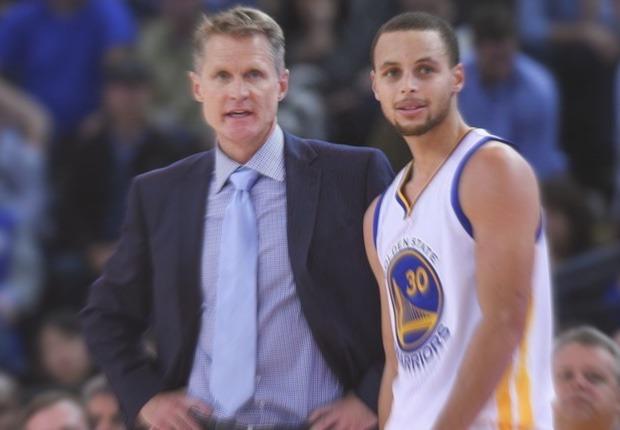 Warriors Steve Kerr Stephen Curry