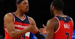 Los Wizards, liderados por Paul Pierce, ganan en la prórroga en Toronto