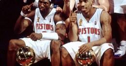 Los Pistons retiran hoy el '1' de Billups