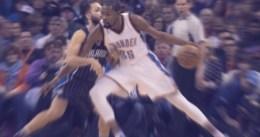 Triple de Durant para salvar a los Thunder