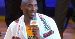 Los Lakers podrían retirar la camiseta de Kobe Bryant en diciembre