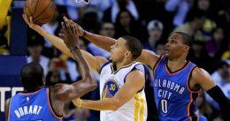 Warriors – Thunder: tie-break y punto de partido