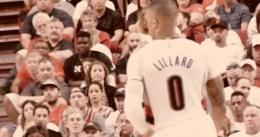 El increíble partido de Lillard