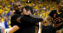 El Rey James regala a Cleveland su primer título NBA