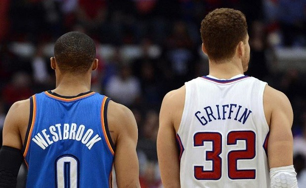 Russell Westbrook y Blake Griffin